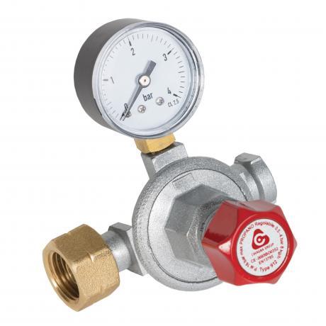 1st Stage Reca External High Pressure Regulator - 12kg w/ Manometer