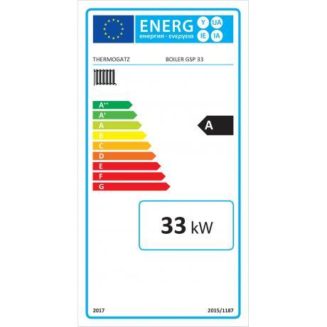 BOILER GSP 33 ENERGY LABEL