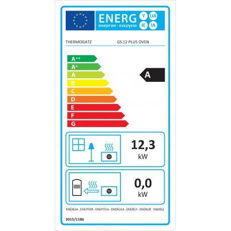 GS 12 PLUS OVEN ENERGY LABEL