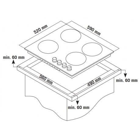 TGS 9040 IX - Σχέδιο Εντοιχισμού