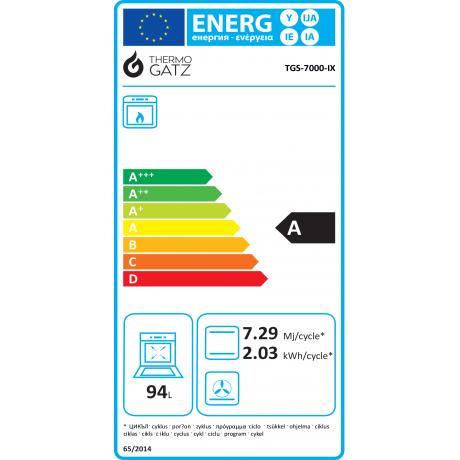 TGS 7000 IX - INOX ENERGY LABEL